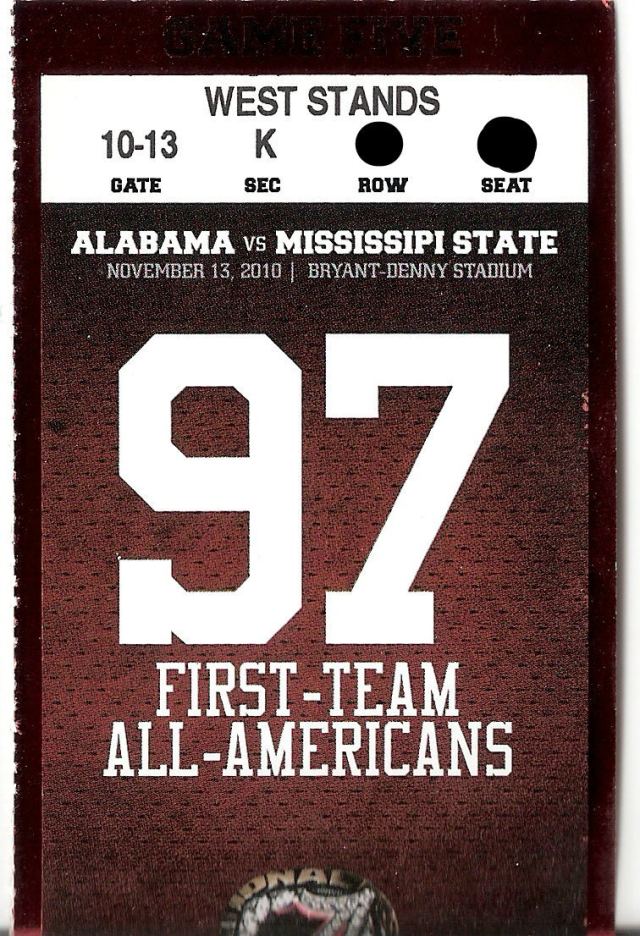 "97 First Team All-Americans...but don't ask them to spell ""Mississipi"""