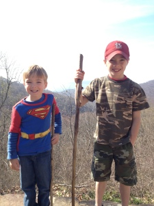The Bybee boys camping trip, Spring 2013