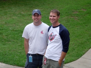 Corey and Jason, circa 2005
