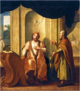Nathan confronts King David, 2 Samuel 7