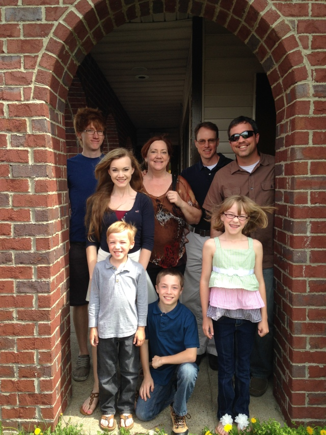 The Bybee / Beard clan, April 2014