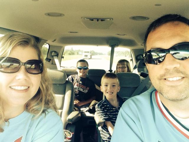 The Bybee Family Road Trip is underway!
