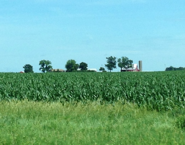 The beautiful heartland of Iowa