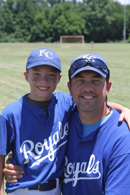 Joshua and Jason Bybee, the 2014 9U Royals