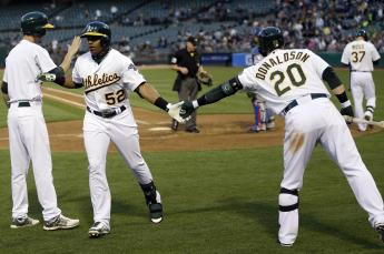 The new Bash Brothers: Cespedes, Donaldson, and Moss