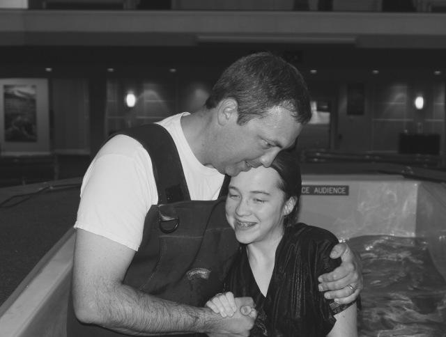 Abby Kate baptism